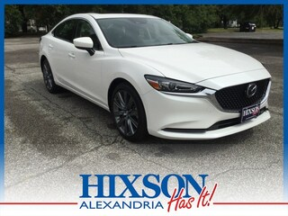 New 2019 Mazda Mazda6 Grand Touring Sedan 504125 serving Alexandria, LA