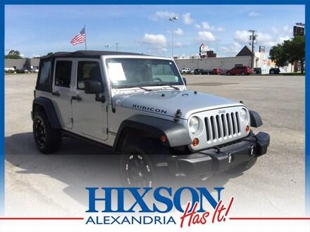 Featured used 2012 Jeep Wrangler Unlimited Rubicon SUV for sale in Alexandria, LA