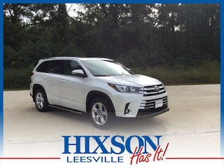 New 2019 Toyota Highlander Limited V6 SUV in Leesville, LA