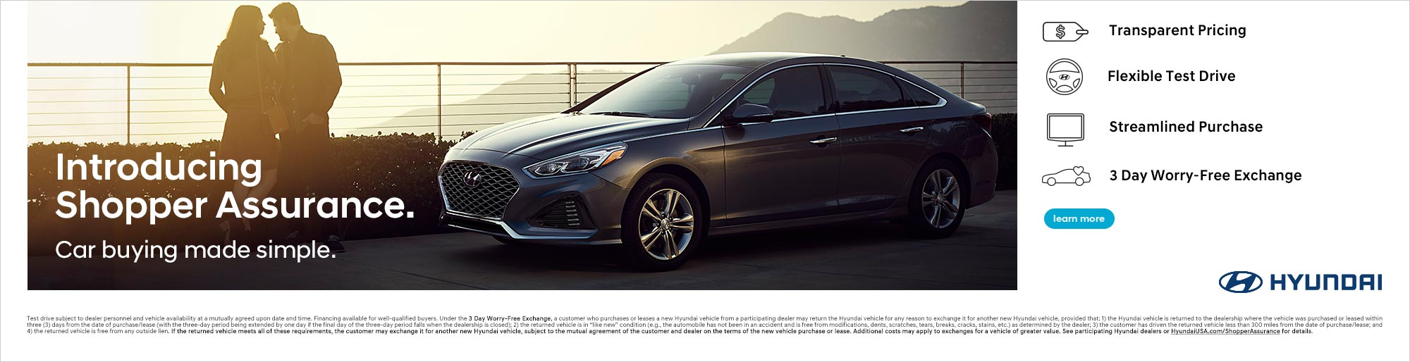 Hyundai Car Shopper Assurance, Learn More