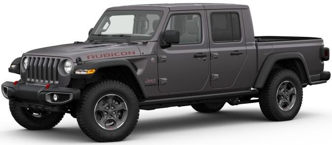 2020 Jeep Gladiator Granite Crystal Metallic Clear-Coat Exterior Paint