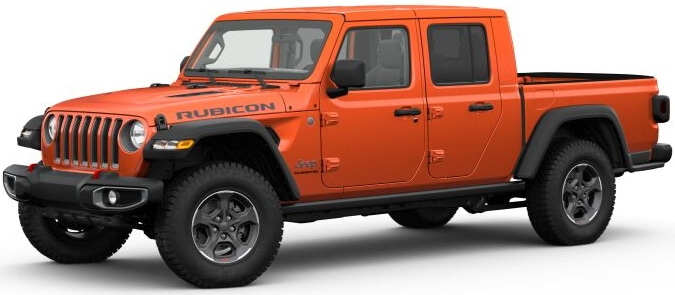 2020 Jeep Gladiator Punk'n Metallic Clear-Coat Exterior Paint
