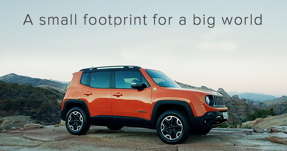 From The Iconic Seven Slot Grille To The Strong Stance, The Renegade Is  Definitely A Jeep Brand Vehicle. Hoblit Dodge Chrysler ...