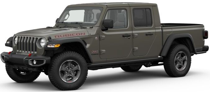 2020 Jeep Gladiator Gator Clear-Coat Exterior Paint
