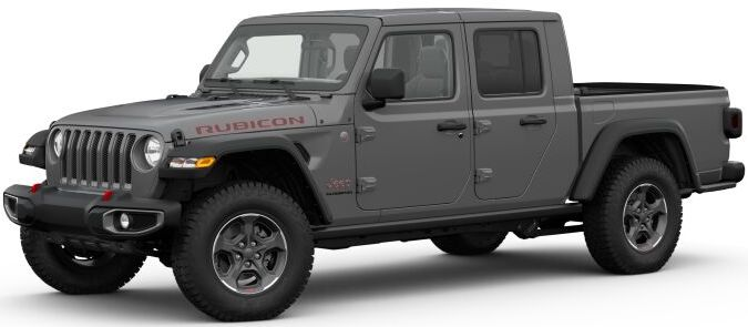 2020 Jeep Gladiator Sting-Gray Clear-Coat Exterior Paint
