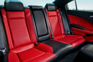 2017 Dodge Charger rear seats