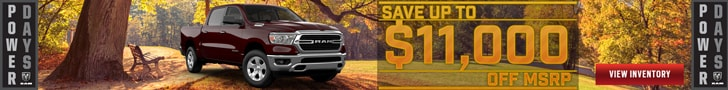 Save up to $11,000 off MSRP on 2020 Ram 1500 Laramie Crew Cab 4x4