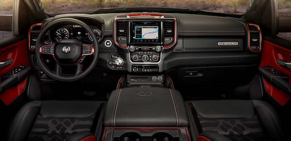 Inside the RAM 1500\'s Redesigned Interior | Hoblit Chrysler Jeep ...