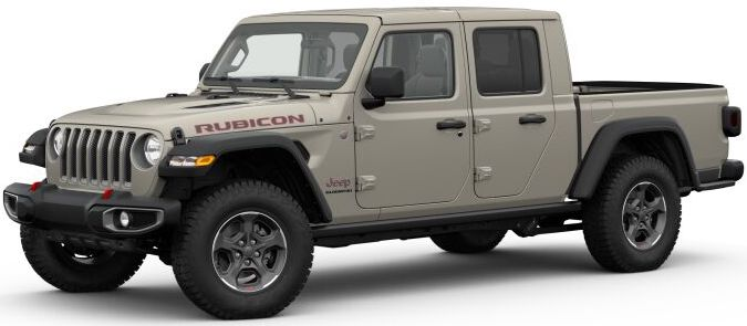 2020 Jeep Gladiator Gobi Clear-Coat Exterior Paint