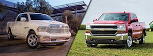 2018 Ford F-150 vs 2018 Chevrolet Silverado 1500