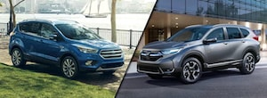 2018 Ford Escape vs Honda CR-V