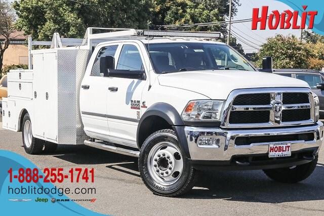 2016 Ram 5500HD Tradesman Crew Cab Cummins w/ Contractor Body Truck