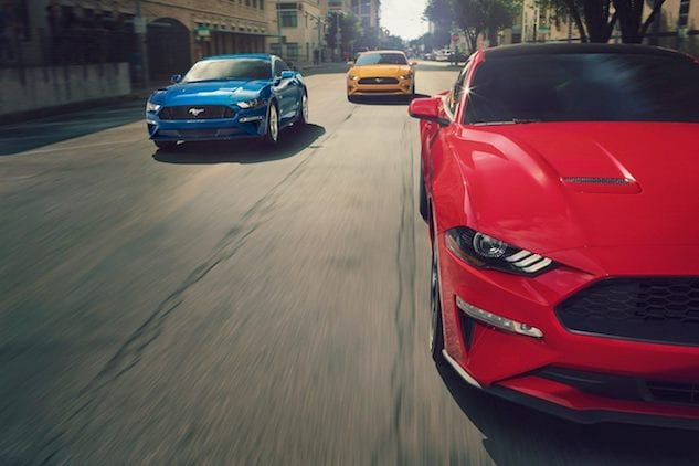 2019 Ford Mustang near Yuba City