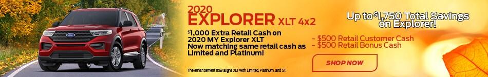 2020 Explorer XLT