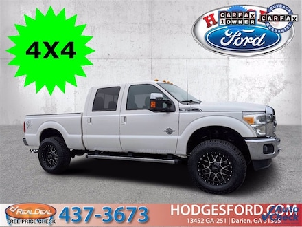 Used 2015 Ford F-350 Lariat Crew Cab Truck for sale in Darien, GA at Hodges Ford