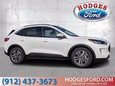 New 2021 Ford Escape SEL SUV for sale in Darien, GA at Hodges Ford