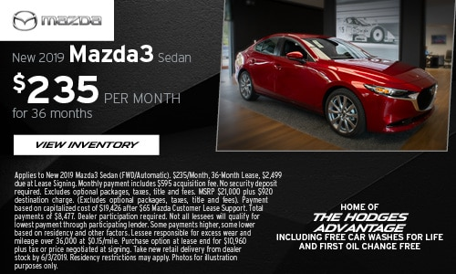 May Mazda3 Sport Offer at Hodges Mazda