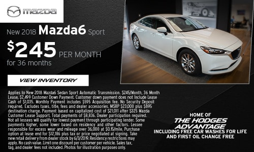 May Mazda6 Sport Offer at Hodges Mazda