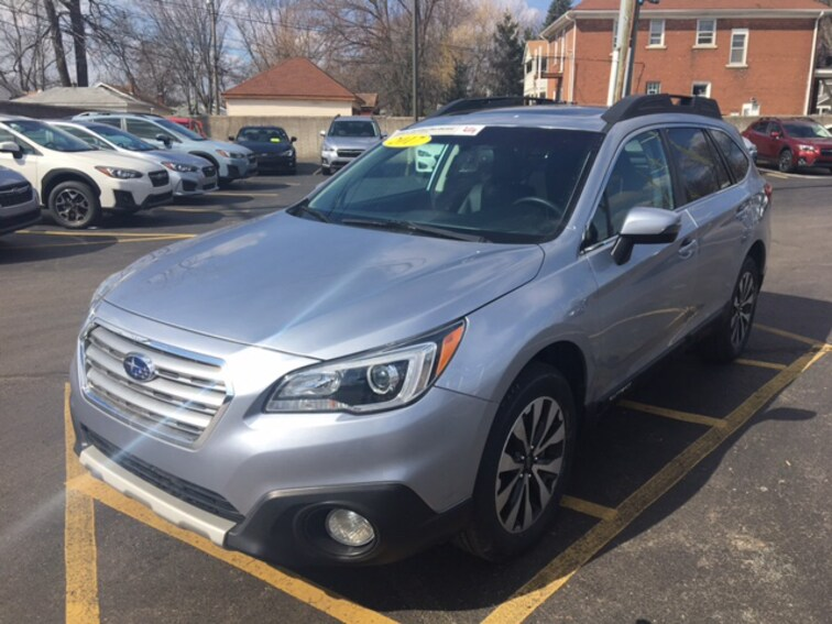 Certified Pre Owned 2017 Subaru Outback Limited SUV For Sale Ferndale, Michigan
