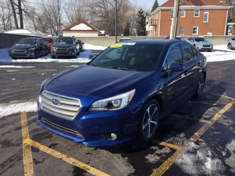 Certified Pre Owned 2016 Subaru Legacy 2.5i Limited Sedan For Sale Ferndale, Michigan