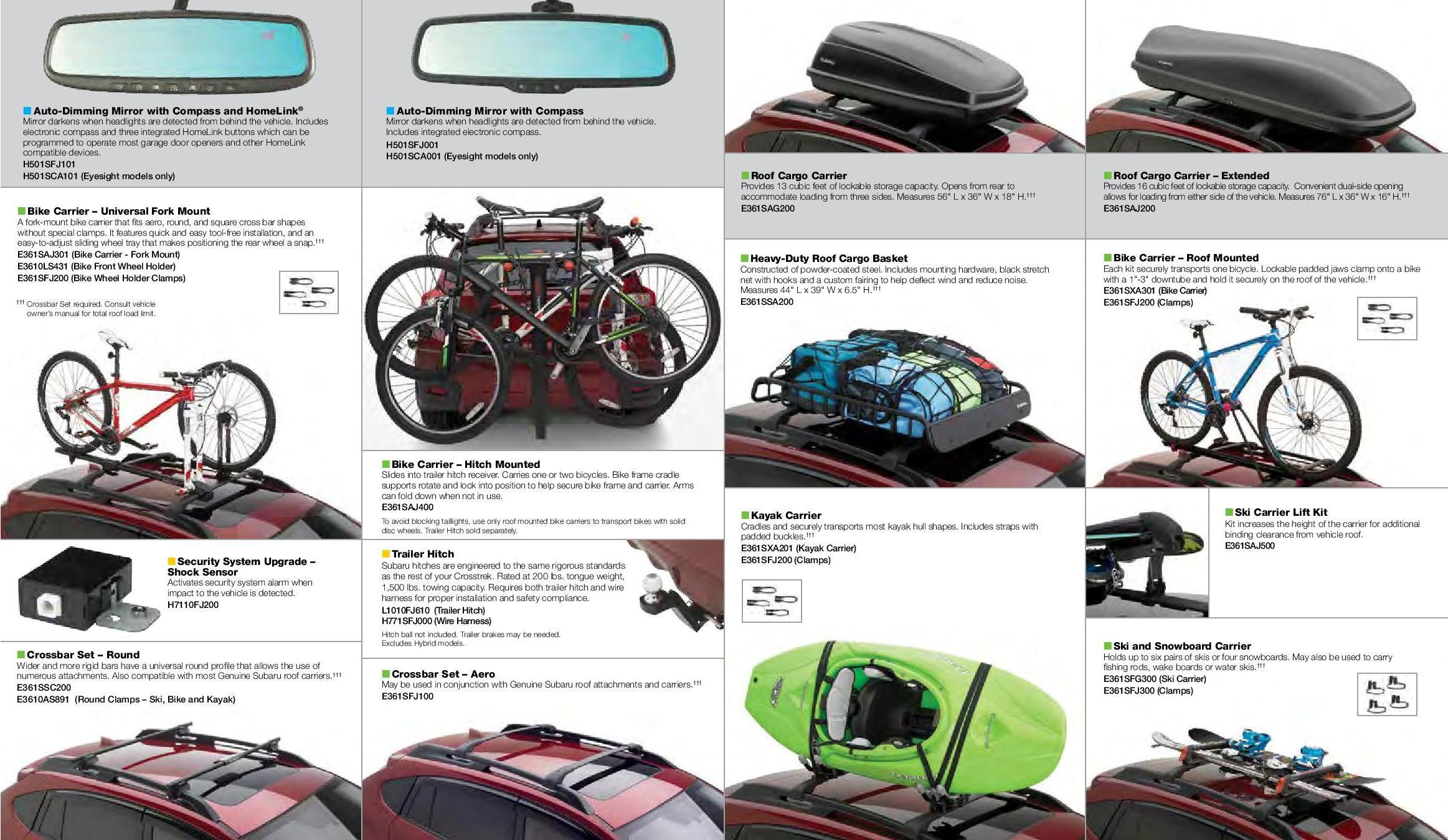 Subaru Crosstrek Accessories & Parts near Detroit | Hodges Subaru