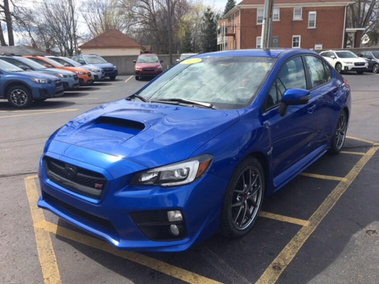 Used 2017 Subaru WRX STI Limited Sedan in Ferndale, MI