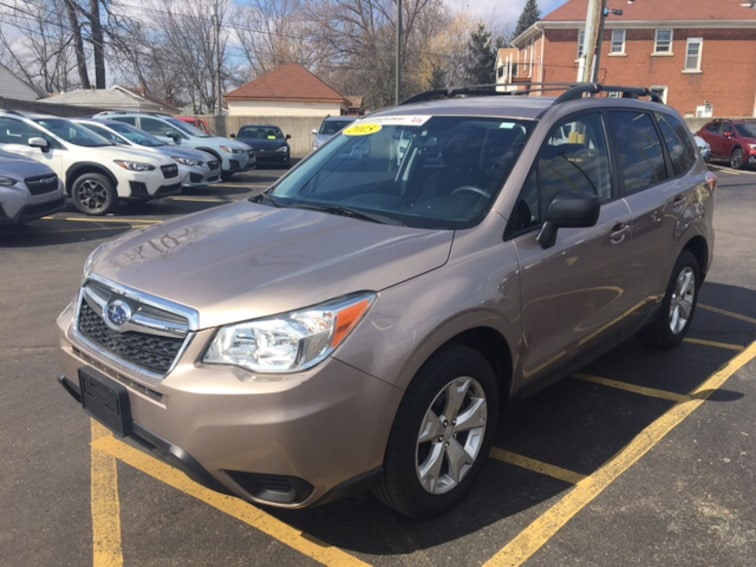 Certified Pre Owned 2015 Subaru Forester 2.5i SUV For Sale Ferndale, Michigan