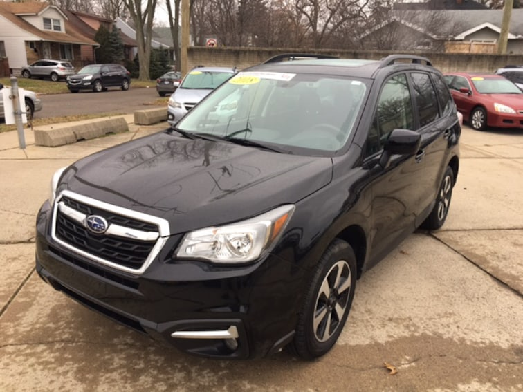 Certified Pre Owned 2018 Subaru Forester Premium SUV For Sale Ferndale, Michigan