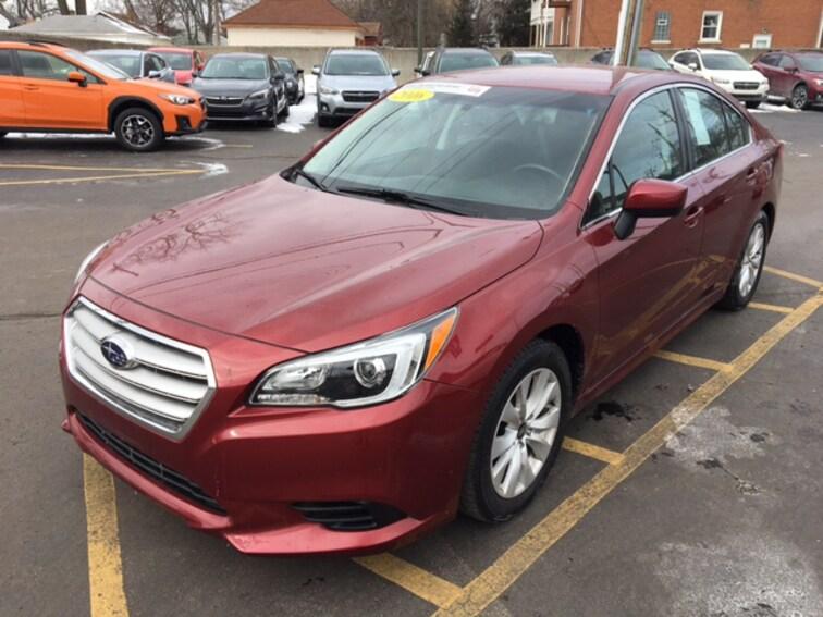 Certified Pre Owned 2016 Subaru Legacy 2.5i Premium Sedan For Sale Ferndale, Michigan