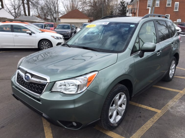 Certified Pre Owned 2015 Subaru Forester 2.5i Limited SUV For Sale Ferndale, Michigan