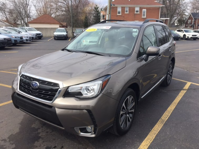 Certified Pre Owned 2018 Subaru Forester XT Touring SUV For Sale Ferndale, Michigan