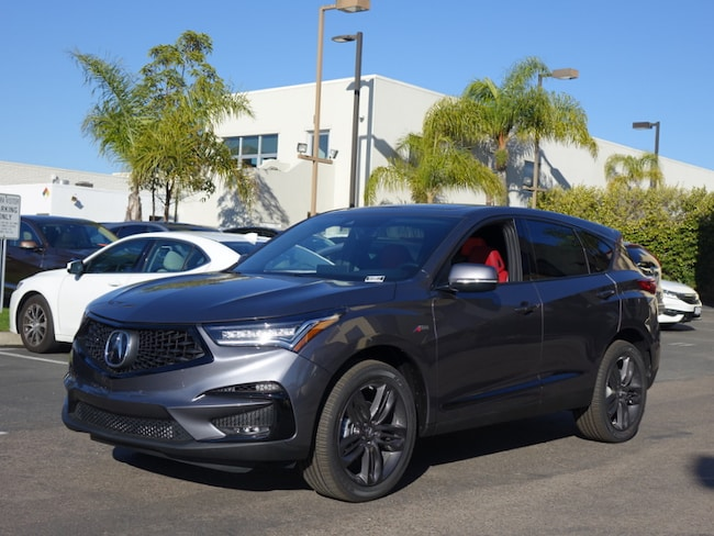 New 2019 Acura Rdx With A Spec Package For Sale Lease Carlsbad Ca