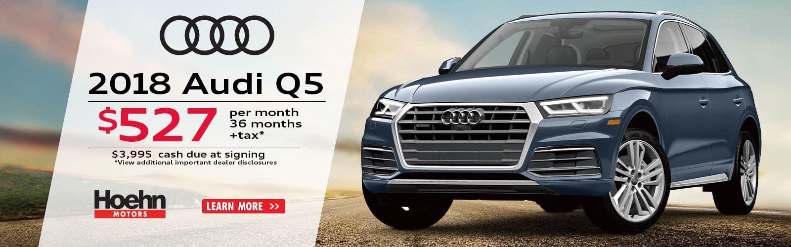 Audi Carlsbad A Hoehn Motors Company New Audi Dealership In - Socal audi dealers