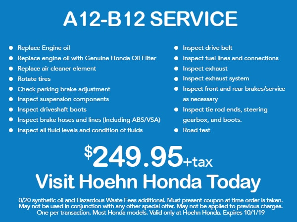 picture relating to Honda Oil Change Printable Coupon titled Honda Automobile Fix Bargains within Carlsbad Provider Centre