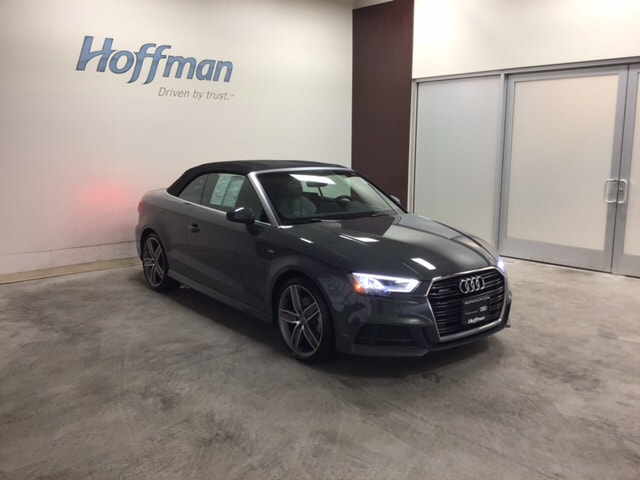 Certified Used 2018 Audi A3 2.0T Premium Cabriolet in East Hartford