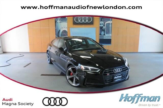 New 2019 Audi S5 3.0T Premium Plus Sportback in New London