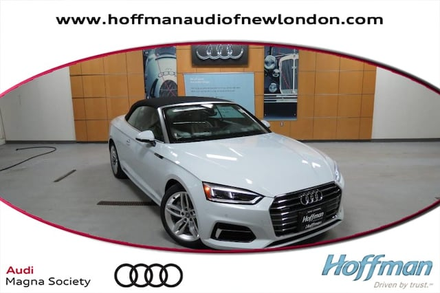 New 2019 Audi A5 2.0T Premium Plus Cabriolet in New London