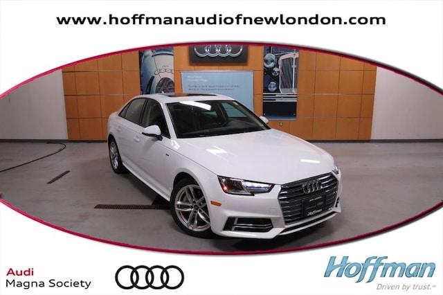 Used 2017 Audi A4 Season of Audi Premium Sedan in New London