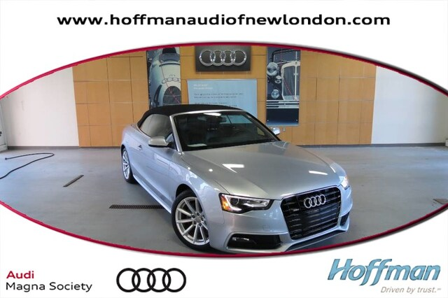 Certified Used 2016 Audi A5 Cabriolet Premium in New London