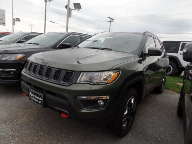 New 2018 Jeep Comp TRAILHAWK 4X4 For Sale in Hagerstown MD | VIN: