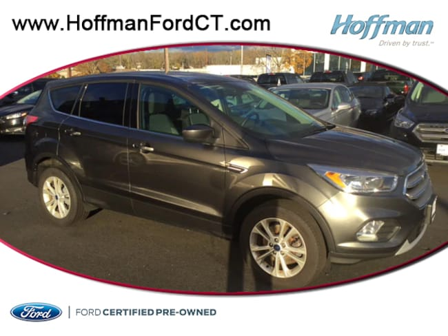 Certified Pre-Owned 2017 Ford Escape SE SUV For Sale in East Hartford, CT