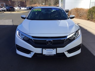 Certified Used 2016 Honda Civic LX Sedan in West Simsbury