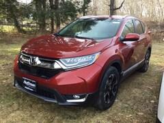 New 2019 Honda CR-V Touring AWD SUV 2HKRW2H92KH602361 in West Simsbury