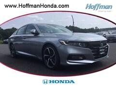 New 2018 Honda Accord Sport Sedan 1HGCV1F34JA250943 in West Simsbury