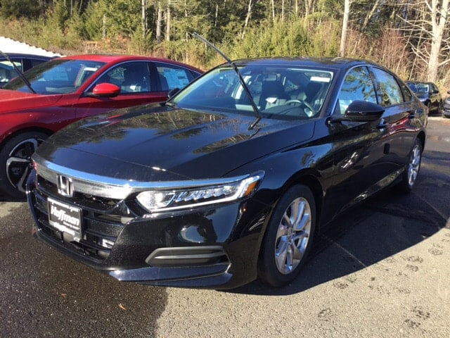 New 2019 Honda Accord LX Sedan 1HGCV1F16KA034754 in West Simsbury