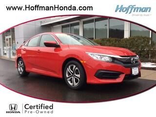 Certified Used 2017 Honda Civic LX Sedan in West Simsbury