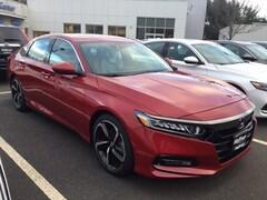 New 2018 Honda Accord Sport 2.0T Sedan 1HGCV2F36JA048532 in West Simsbury