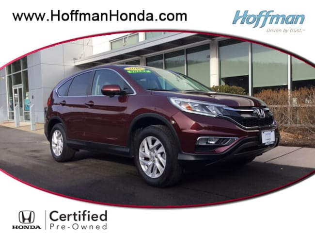Used 2016 Honda CR-V EX SUV near Hartford