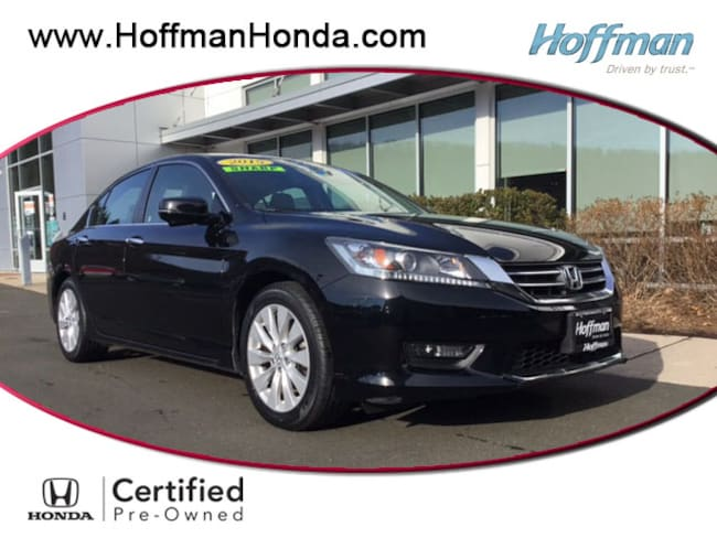 Used 2015 Honda Accord EX-L Sedan near Hartford