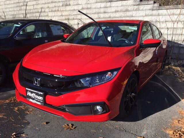 New 2019 Honda Civic Sport Coupe 2HGFC4B83KH302569 in West Simsbury